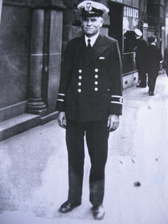 William Magnus serving his country WW2 for the RoyalNZNavy